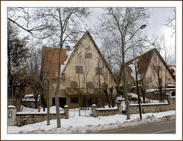 Sloped Style Roofs in Ifrane, Morocco