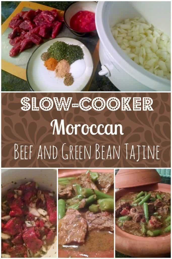 Moroccan tajine is cooked in the original slow cooker, a conical clay pot. But you can put your slow cooker to work when you make this recipe for beef and green bean tajine.