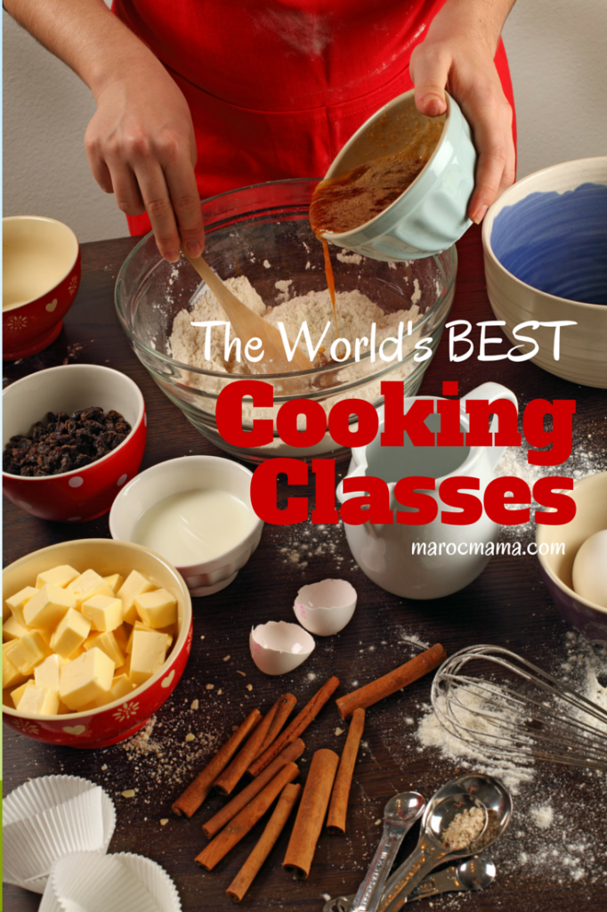 The World's BEST Cooking Classes. Wherever you go in the world there's great food around at your fingertips!