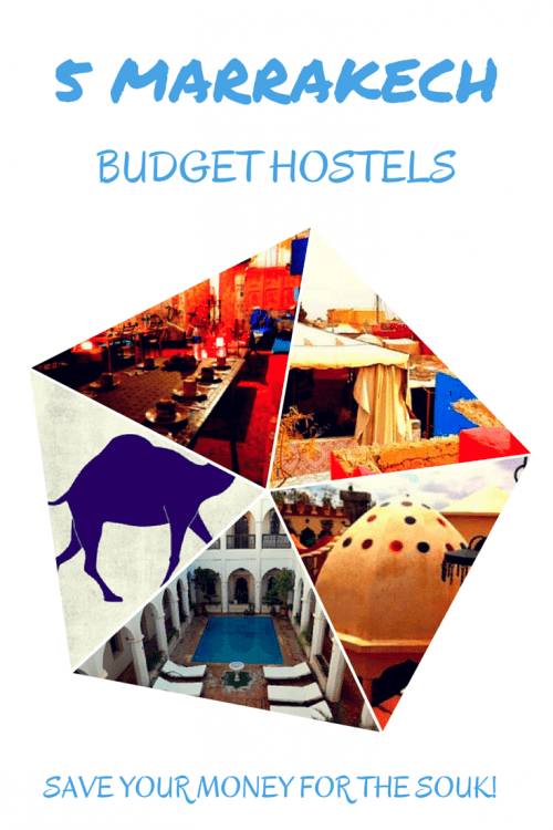 5 Marrakech Budget Hostels to Consider for your Visit to the Red City