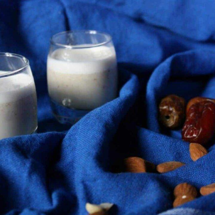 Moroccan Date Almond Milk