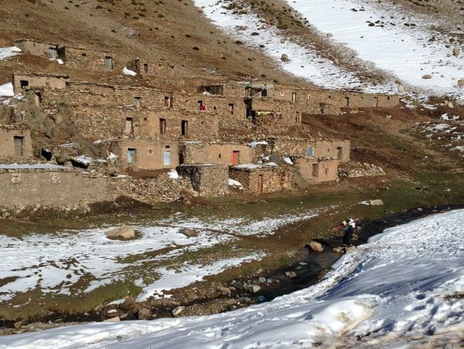 Berber village Oukaimden
