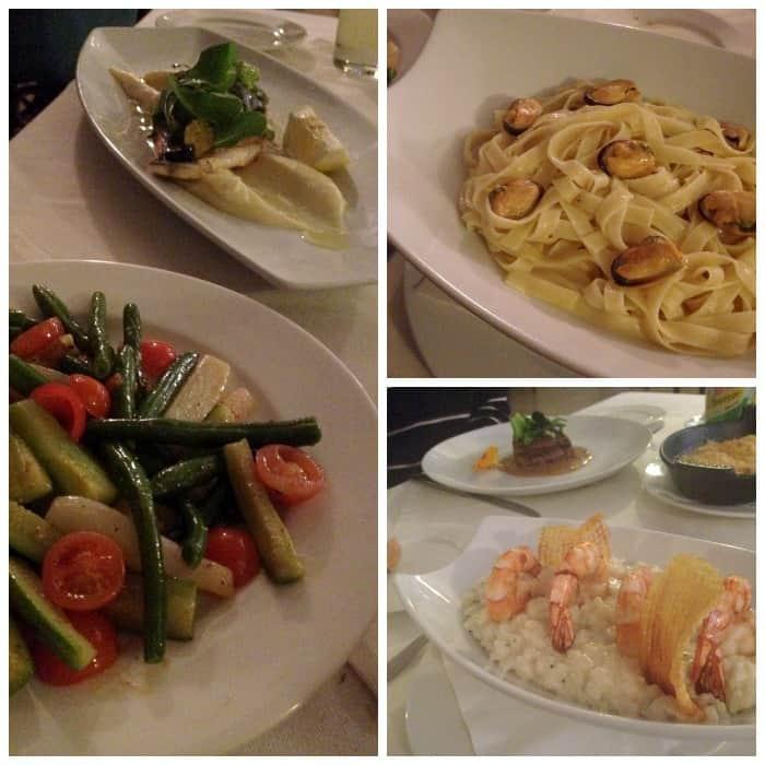 Dinner at 27 Paradis Plage