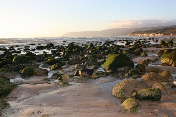 Rocky Beach in Taghazout