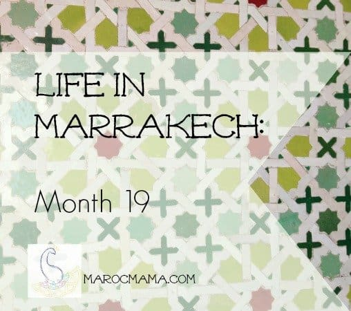 Life in Marrakech Month 19