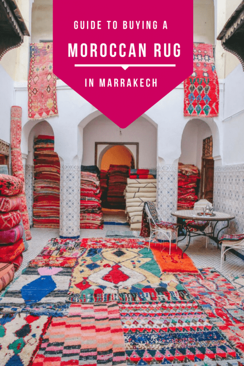 How to buy a great rug in Marrakech without getting ripped off (and where to go to find them!)