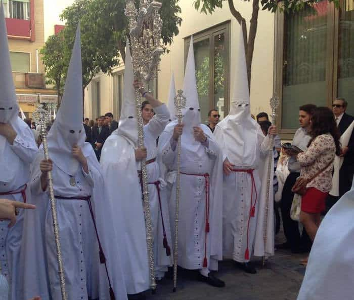 Processional Starting in Seville