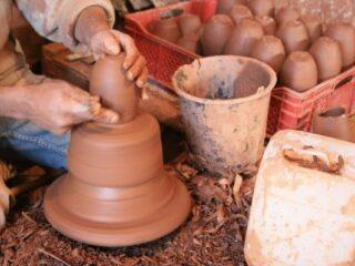 Safi Morocco Potter at Work