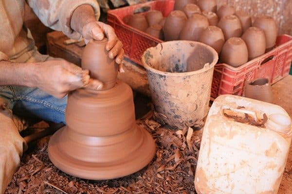 Safi Morocco Potter at Work