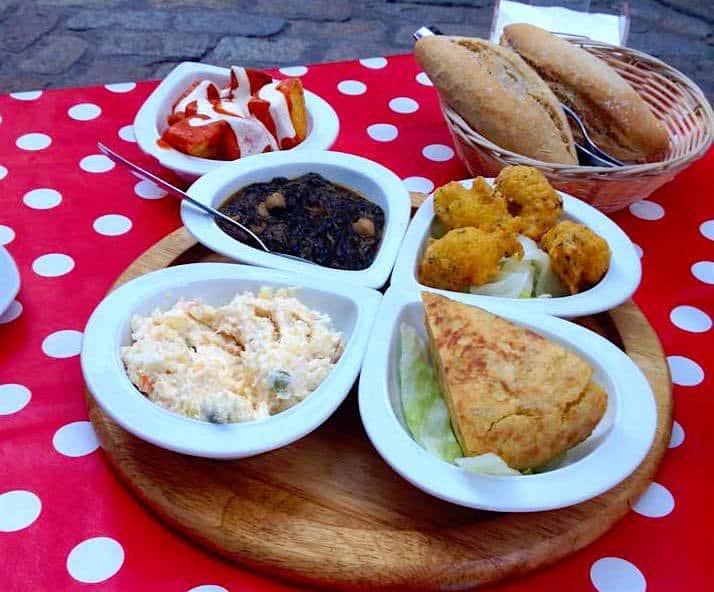 Vegetarian Tapas in Seville