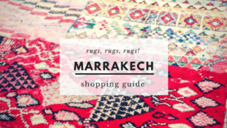 Buying a Rug in Marrakech