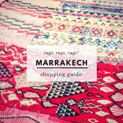 7 Tips for Buying a Rug in Marrakech {2018 Update}