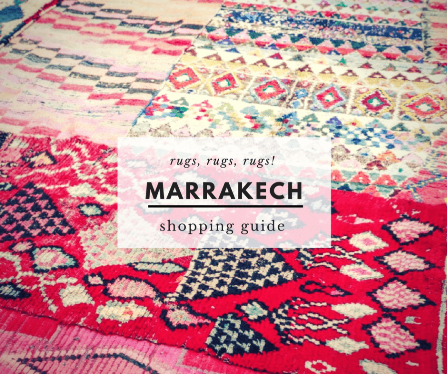 7 Tips for Buying a Moroccan Rug in Marrakech {2019 Update}