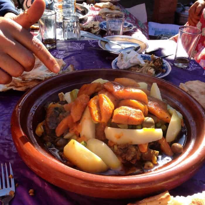 Berber Tajine in Ourigane