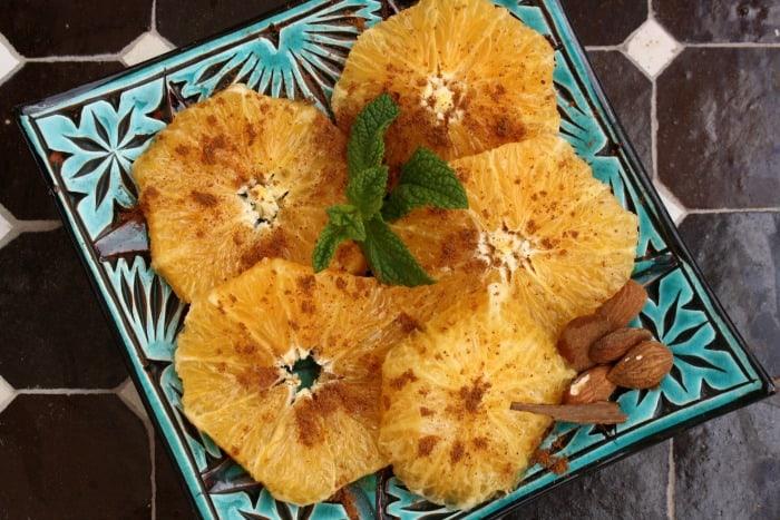 Cinnamon Oranges Riad Quara