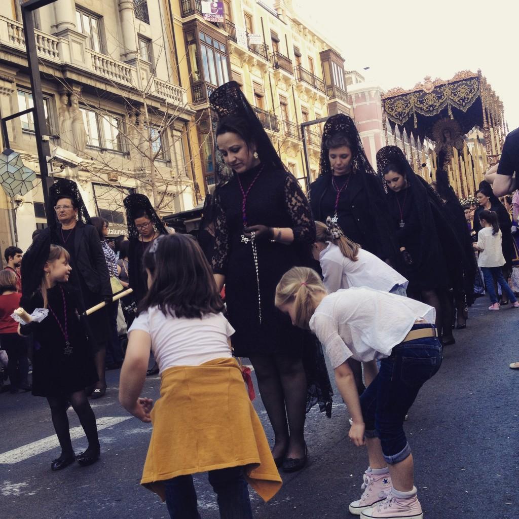 Santa Semana in Granada