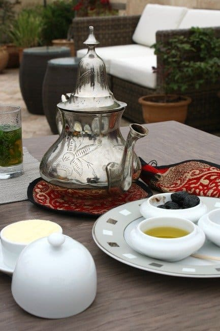 Terrace Breakfast Karawan Riad