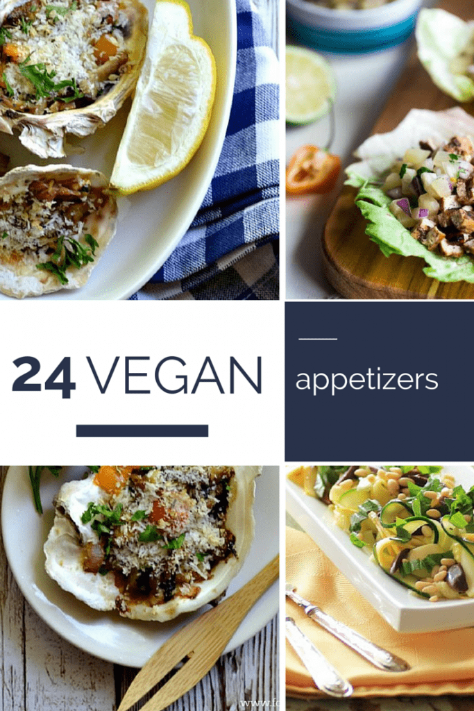 24 Vegan Appetizers | www.marocmama.com