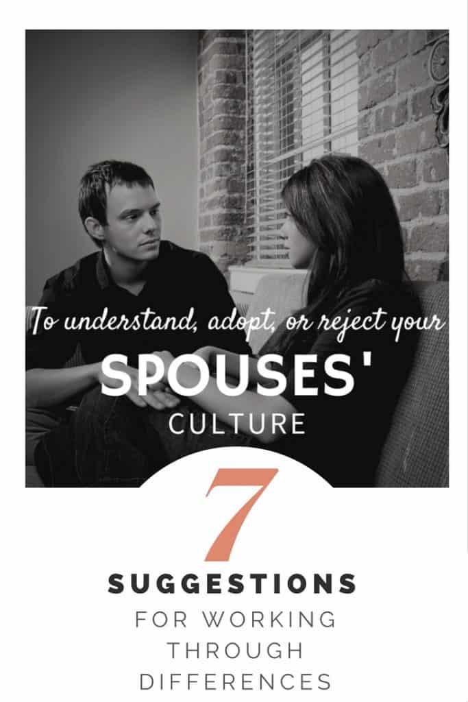 Understanding Spouses' Culture | Intercultural Relationship