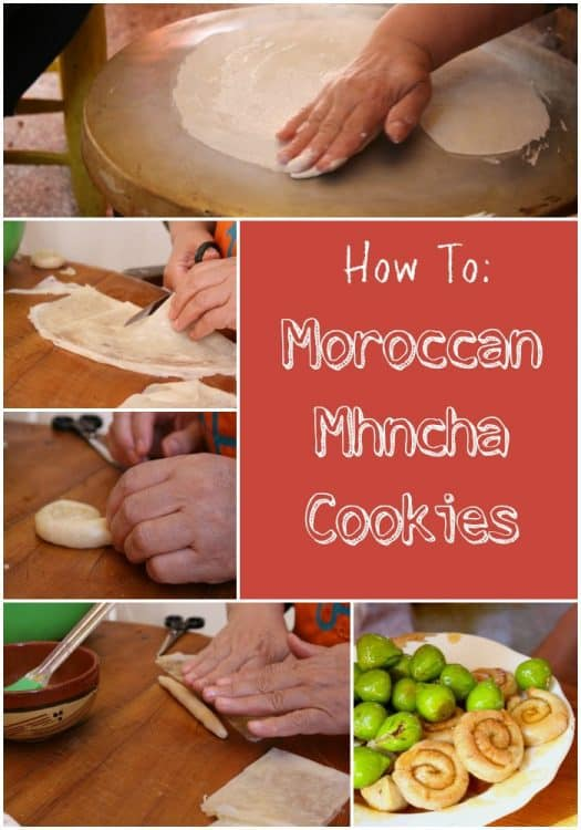 How to Make Moroccan Mhncha Cookies