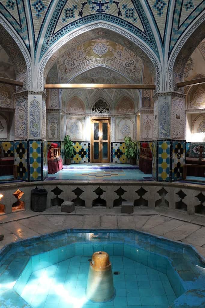 Iranian public bathhouses