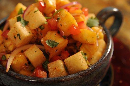 Jicama-Orange Salad with Chile Lime Vinaigrette