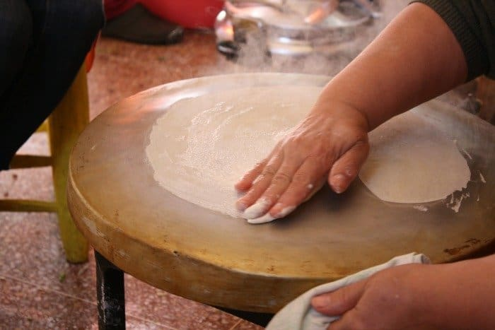 Making Moroccan Phyllo Dough - Warka