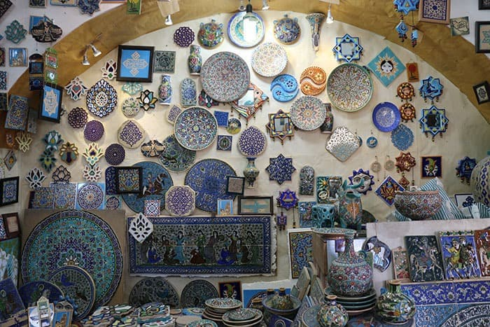 Souvenirs in Iran