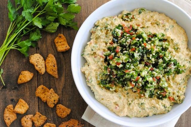 Tabbouleh-Hummus