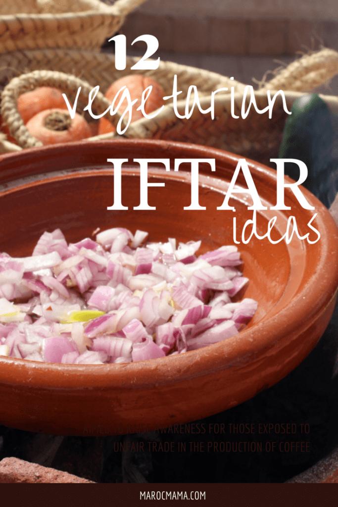 12 Vegetarian Iftar Ideas | marocmama.com