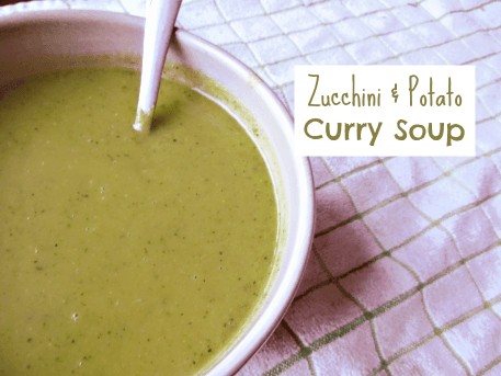 Zucchini and Potato Curry Soup