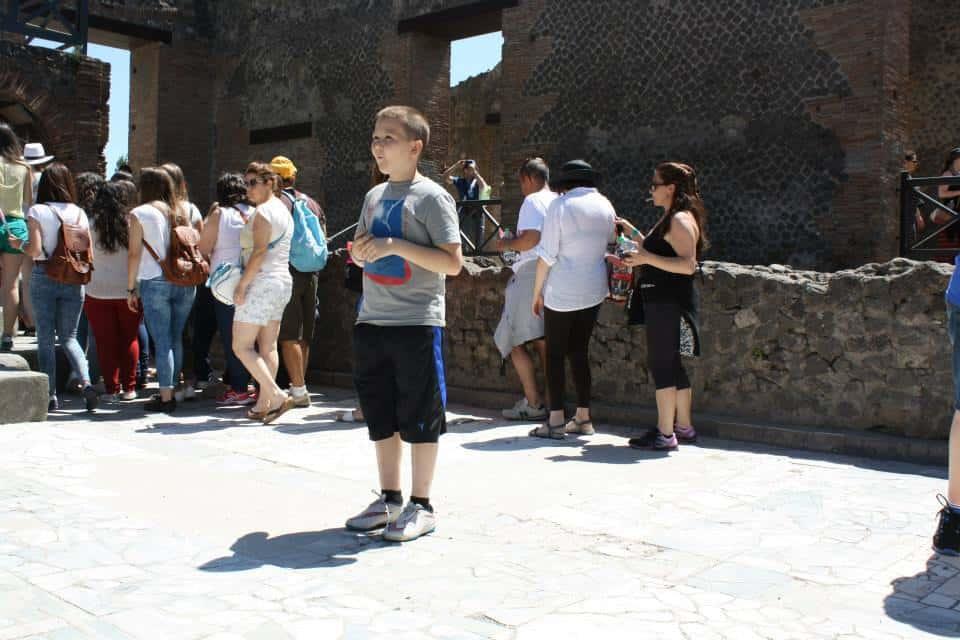 Acoustics in Pompeii Theatre