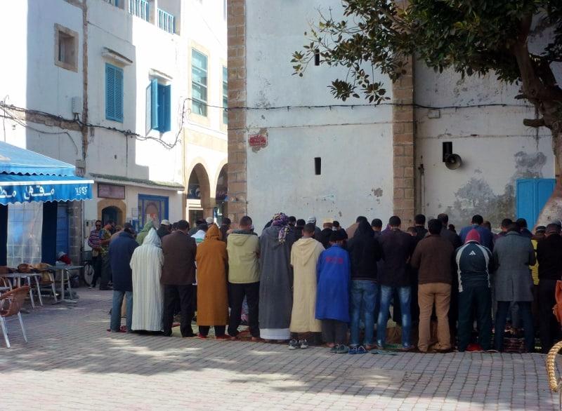 Call to prayer Essaouira Morocco
