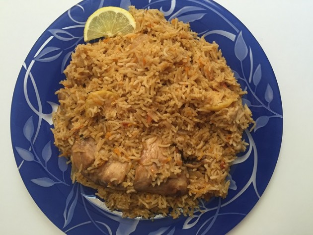 Saudi Kabsa - Chicken and Rice