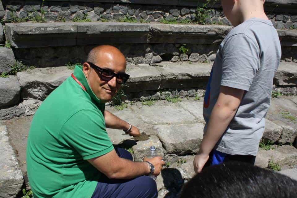 Lava Rocks in Pompeii