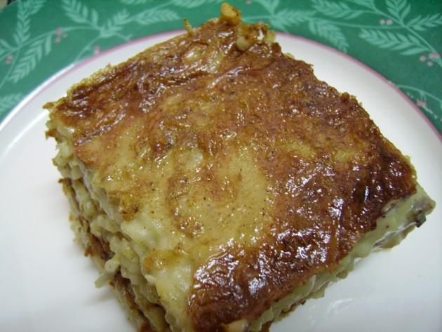 Egyptian Pasta Bechamel