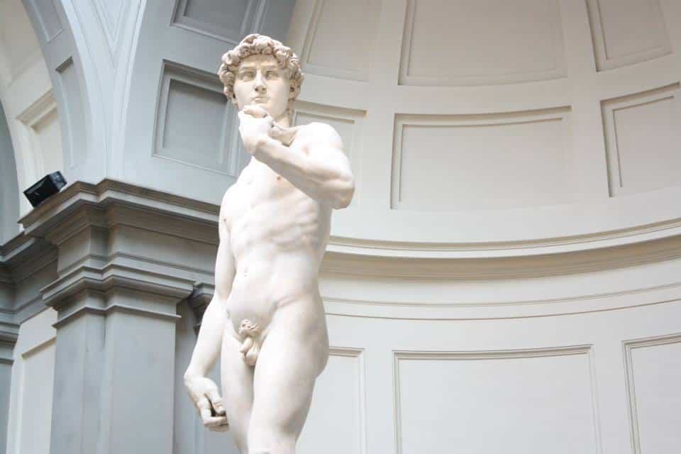 Michaelangelo's David Sculpture