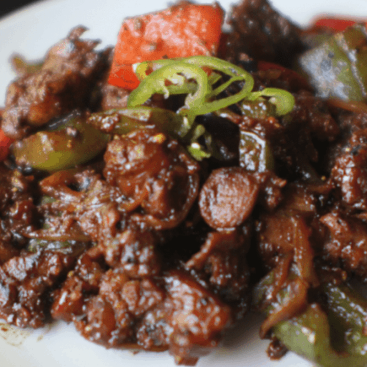 Malaysian Pepper Lamb Stir Fry