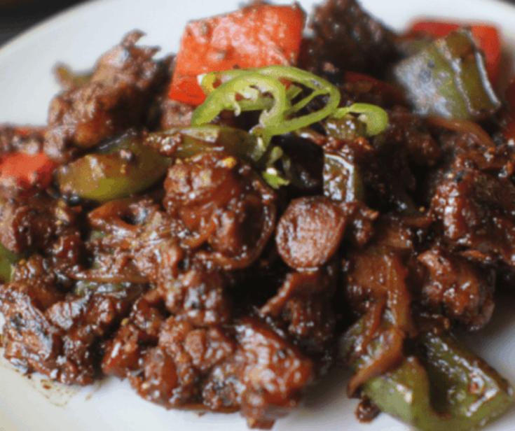 Malaysian Pepper Lamb Stir Fry