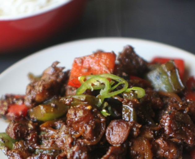 Pepper Lamb Stir Fry Header