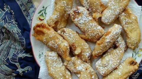 Brunei Pisang Goreng {Deep Fried Bananas}