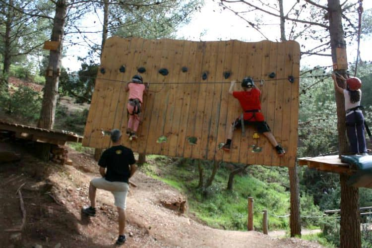 Rope Course Obstacle