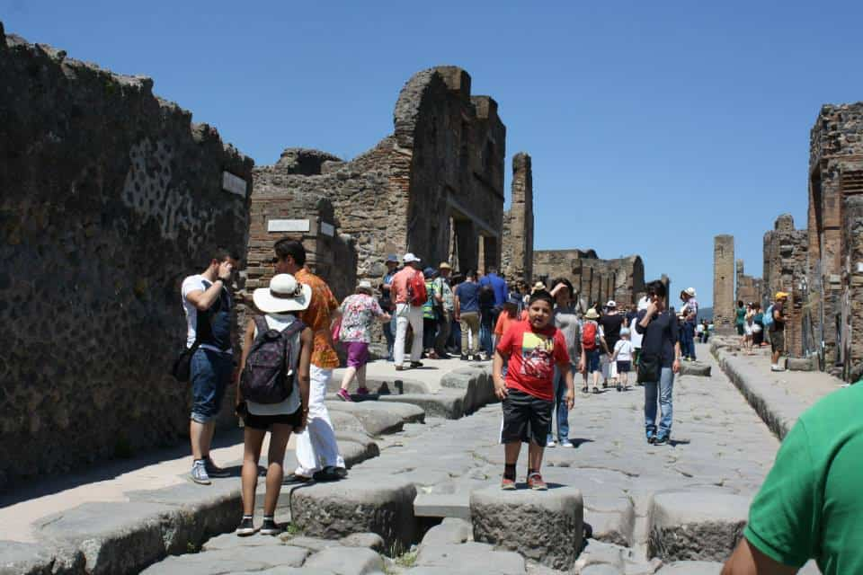 A Shore Excursion to Pompeii with Kids