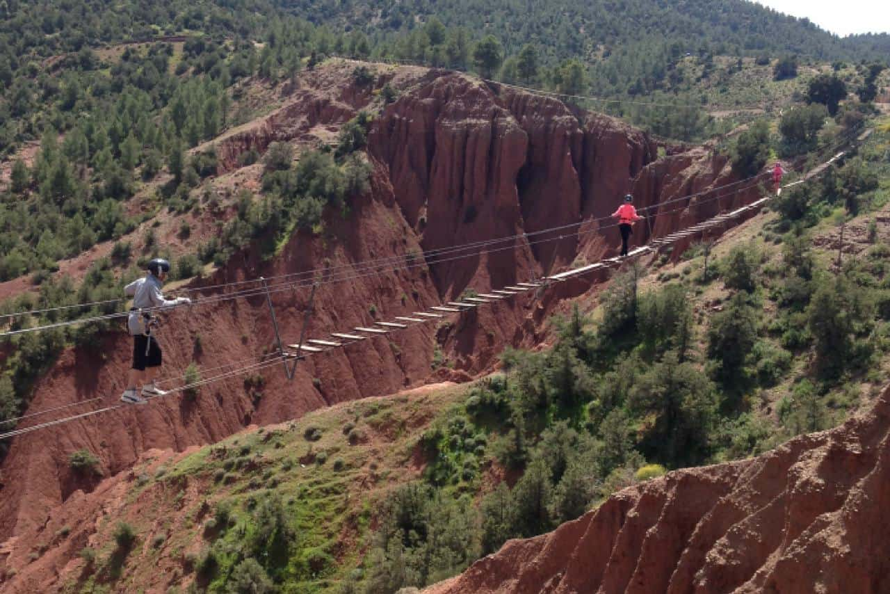Ziplining in the Atlas Mountains COVER