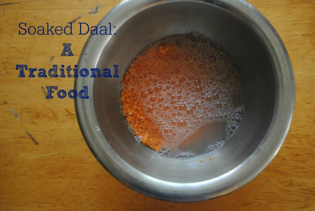 Pakistani Soaked Daal
