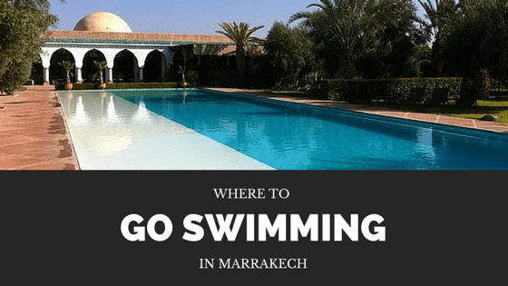 where to swim in marrakech