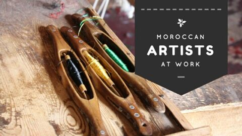 An Inside Look at Moroccan Artisans at Work