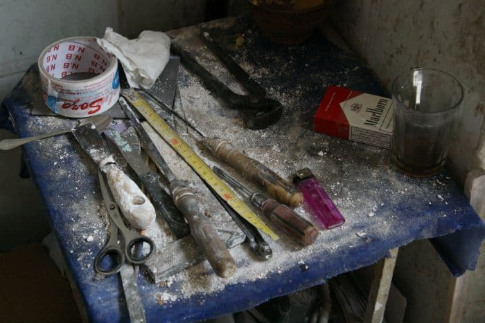 Carving Tools for Plaster Artist