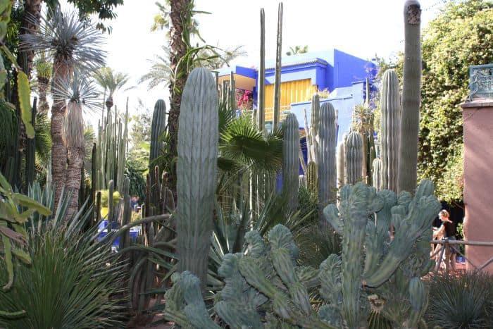 Jardin Majorelle Blue Building