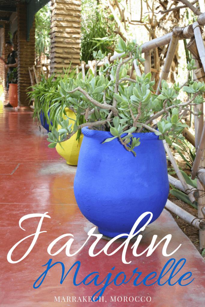 Visiting Marrakech's Majorelle Jardin
